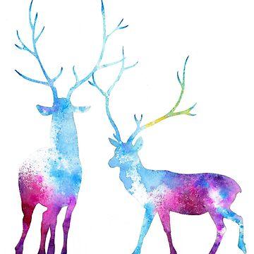 My Deer Universe by ClearJadeStudio
