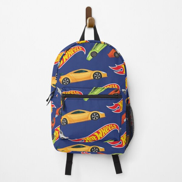 Hot Wheels Cars and Logo Backpack