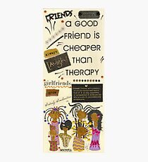 Good Friends Photographic Print