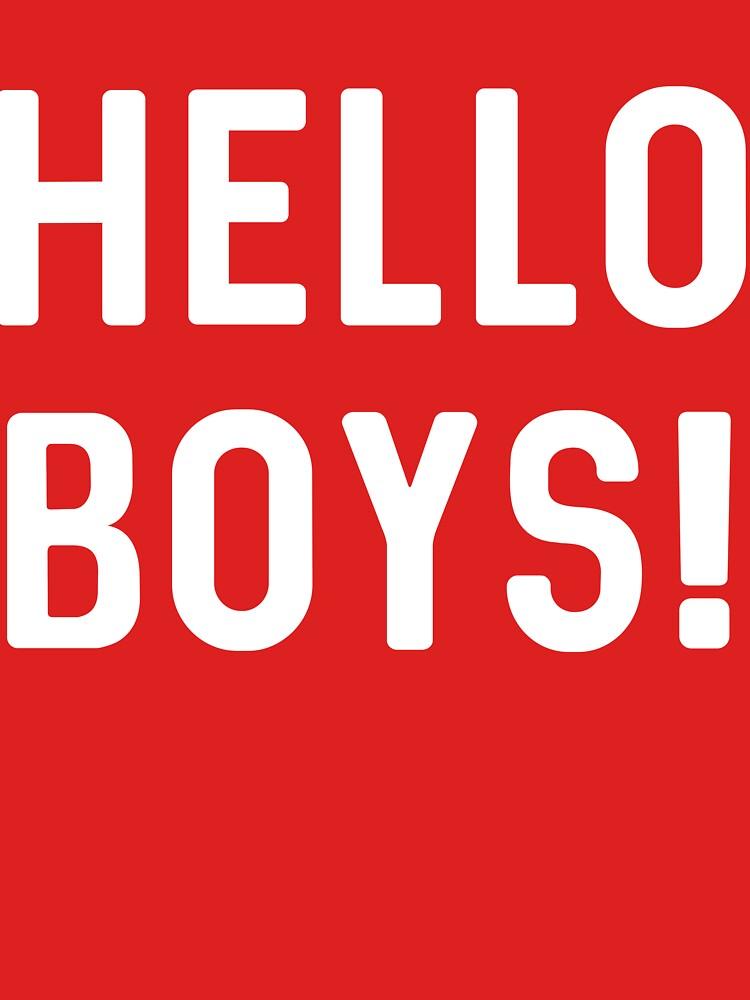 Hello Boys! by artack