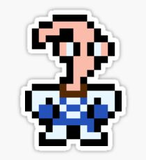 Pixel Earthworm Jim Sticker