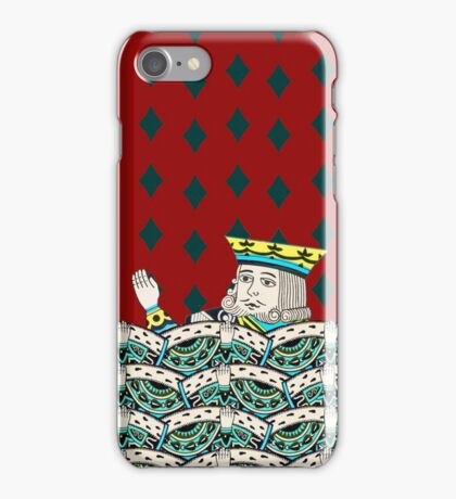 Red King Overboard iPhone Case/Skin