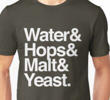 Beer Ingredients Unisex T-Shirt
