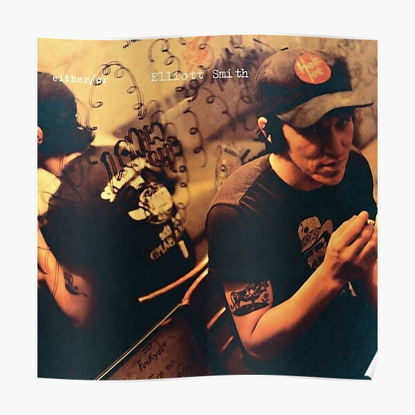 Elliott Smith - Either Or Album Cover Poster