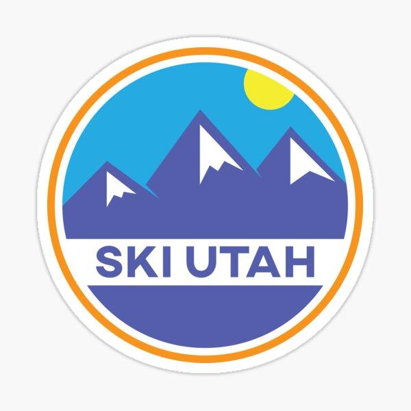 Ski Utah Badge Sticker