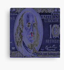 george washington blow nose Canvas Print
