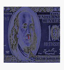 george washington blow nose Photographic Print