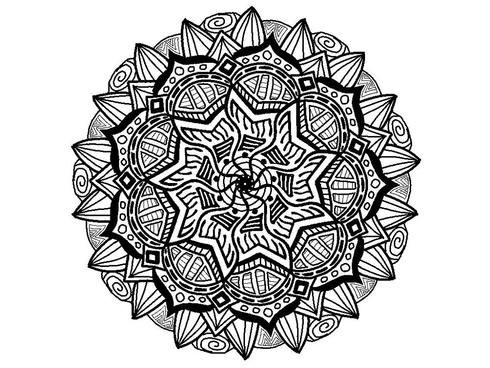 Mandala Design by LauraSeaward