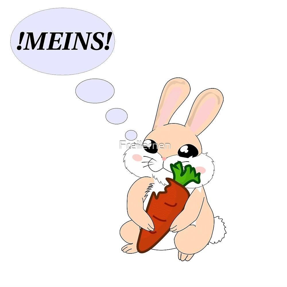 !MINE! rabbit by Freilernen