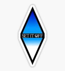Set It Off Diamond Logo Sticker