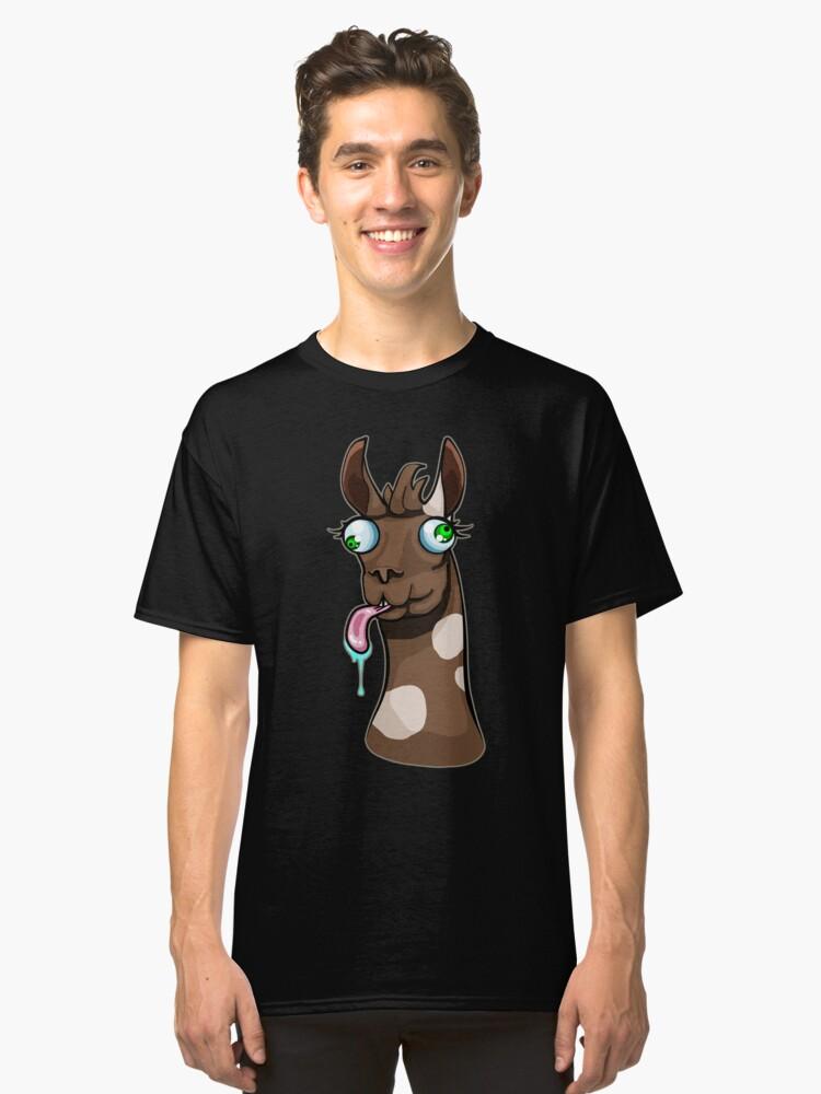 Goofy Llama Classic T-Shirt Front