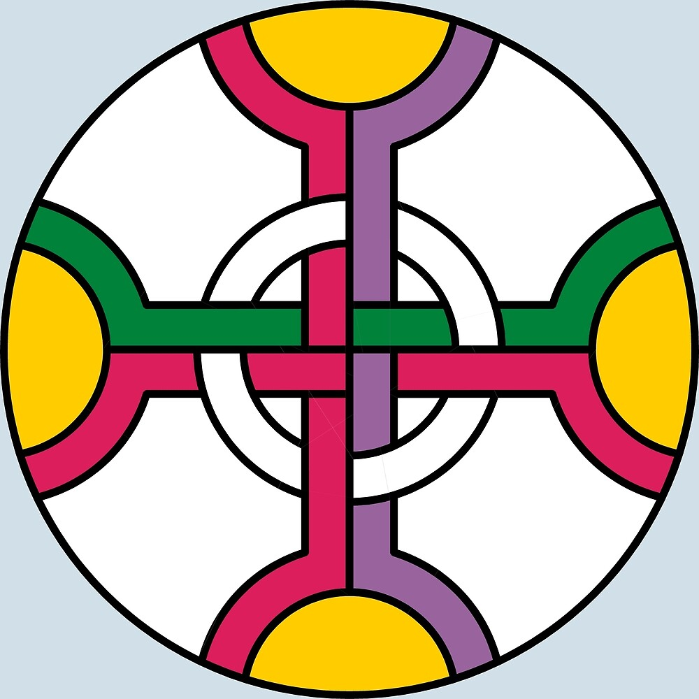 Interwoven Cross Ornament  by CatholicSaints