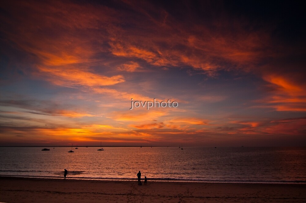 Sunset in Darwin by jovphoto