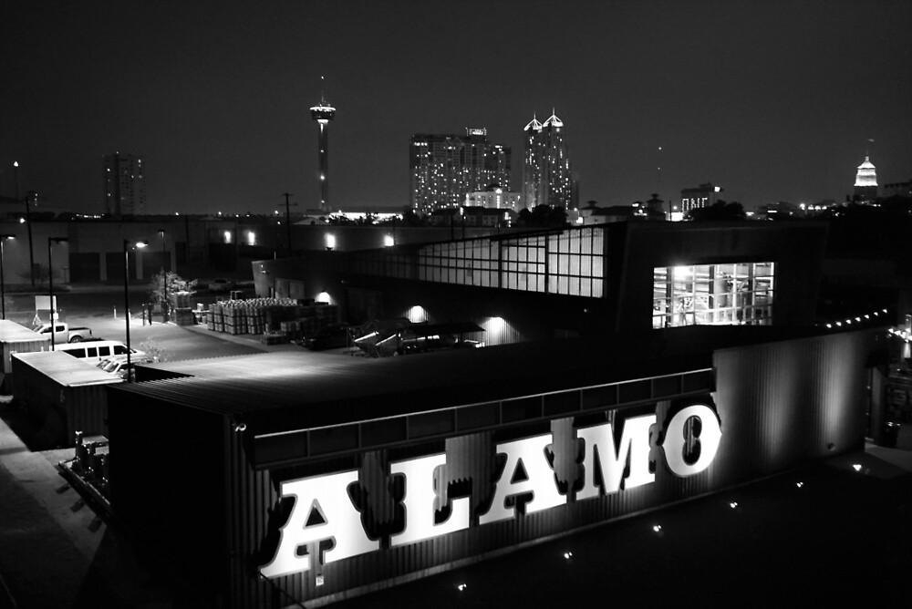 San Antonio skyline by Marisa Palacios
