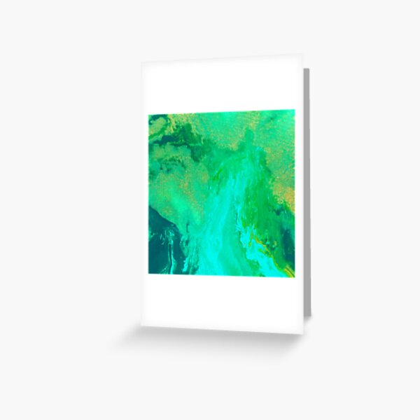 NATURAL CHAOS  Greeting Card