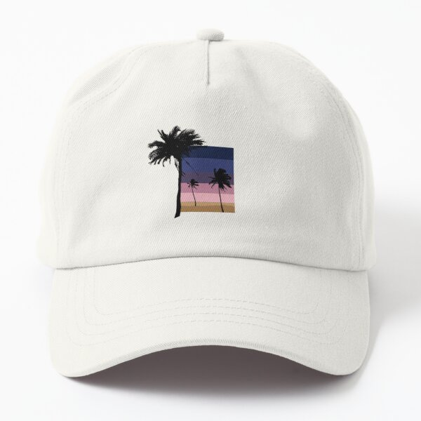 Sunset Vector Dad Hat