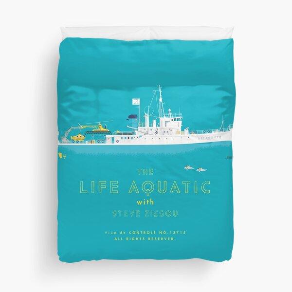 The Life Aquatic with Steve Zissou Duvet Cover