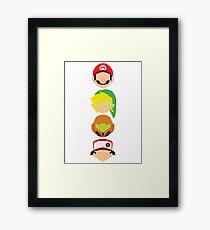 Nintendo Greats - Vertical Framed Print