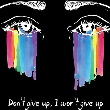 Sia the greatest - don't give up (white) by Zapatadsgn