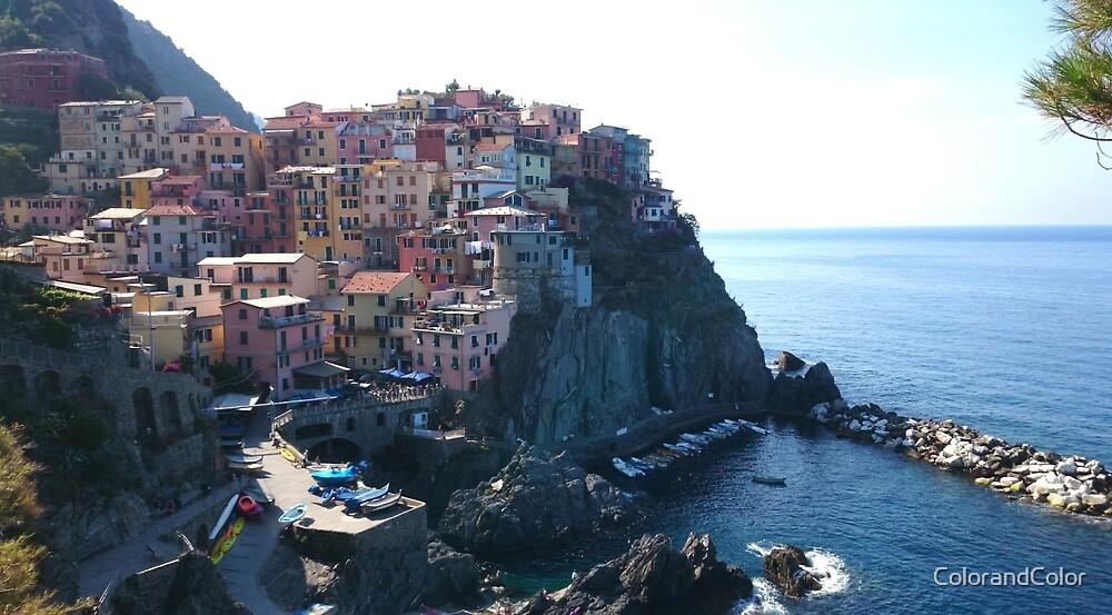 Cinque Terre in Italy by ColorandColor