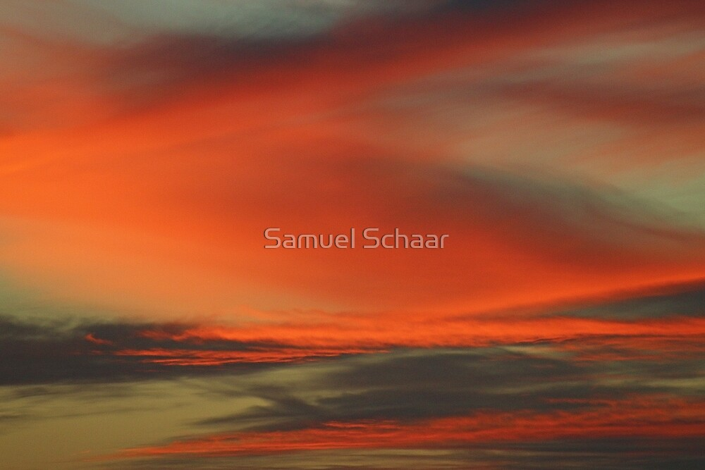 Sunset Fury by Samuel Schaar