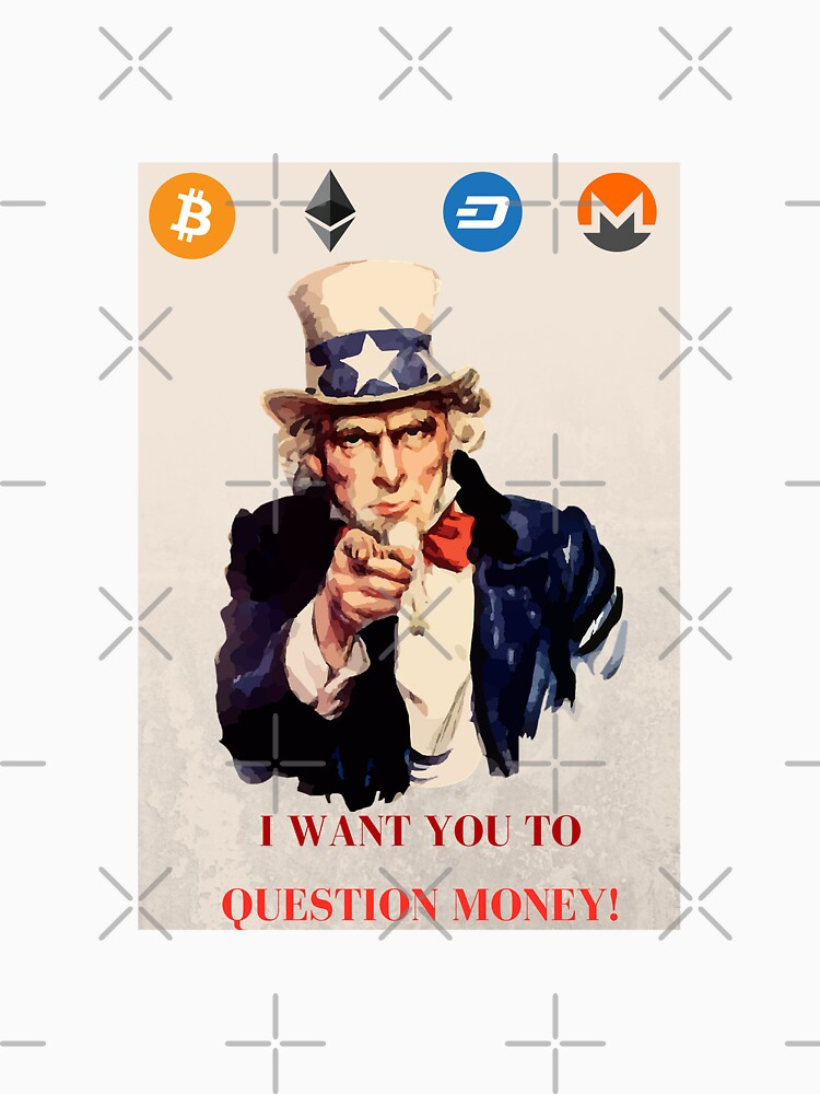 uncle-sam crypoto question money by mikeblue7