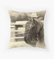 The Cowboy Way Throw Pillow