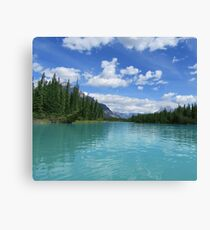 Banff Lake Canvas Print