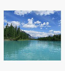 Banff Lake Photographic Print
