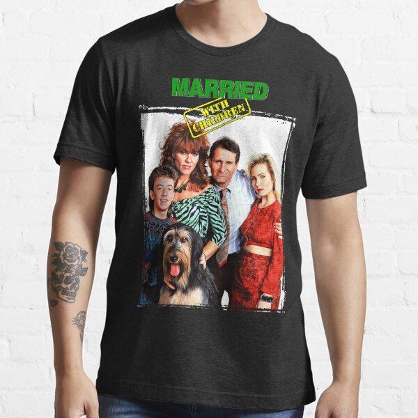 Marié avec des enfants T-shirt essentiel