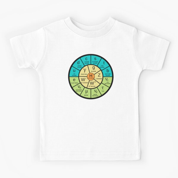 The Standard Model (now in spring colors) Kids T-Shirt