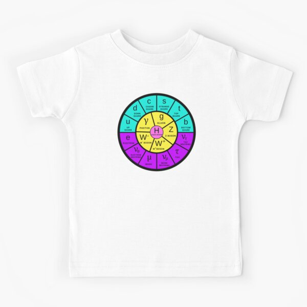The Standard Model (now in neon colors) Kids T-Shirt