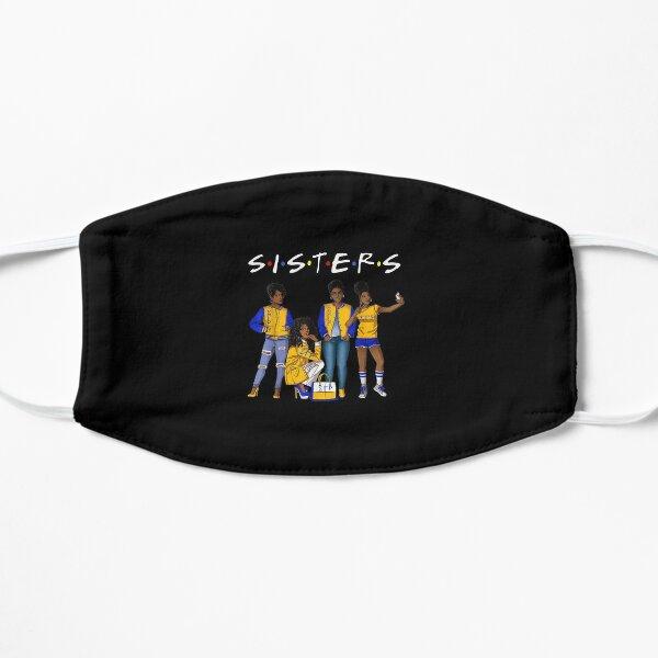 Sigma Afro Girl Friends Gamma Sisters Rho SGR Flat Mask