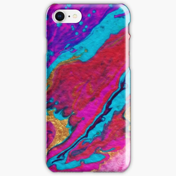 FLOW FAVOURS THE BOLD iPhone Snap Case