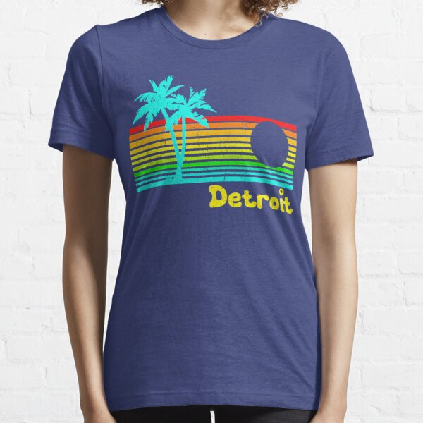 Tropical Detroit (funny vintage design) Essential T-Shirt