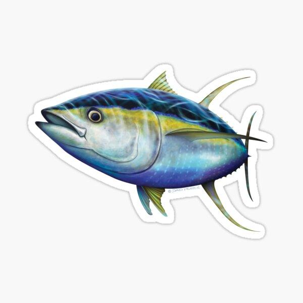 Yellowfin Tuna Sticker