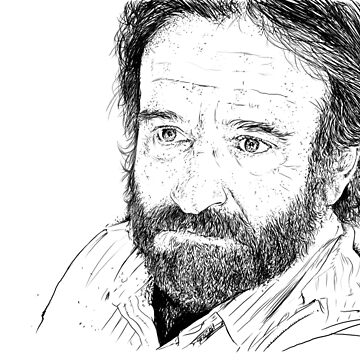Robin Williams by mattdez