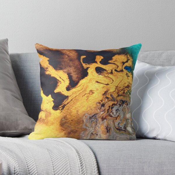 DANCER IN THE NIGHT Throw Pillow