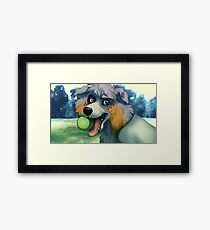 Sweet Dog Framed Print