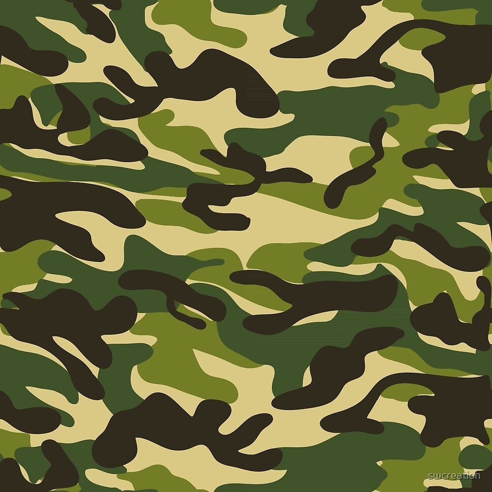 Military Camouflage Pattern 1 by swcreation