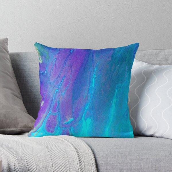 Ocean Harmony Throw Pillow