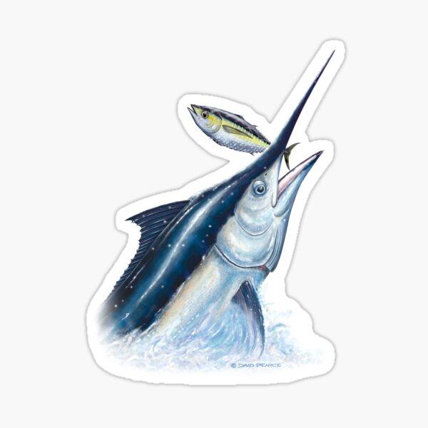 Black Marlin & Tuna Sticker