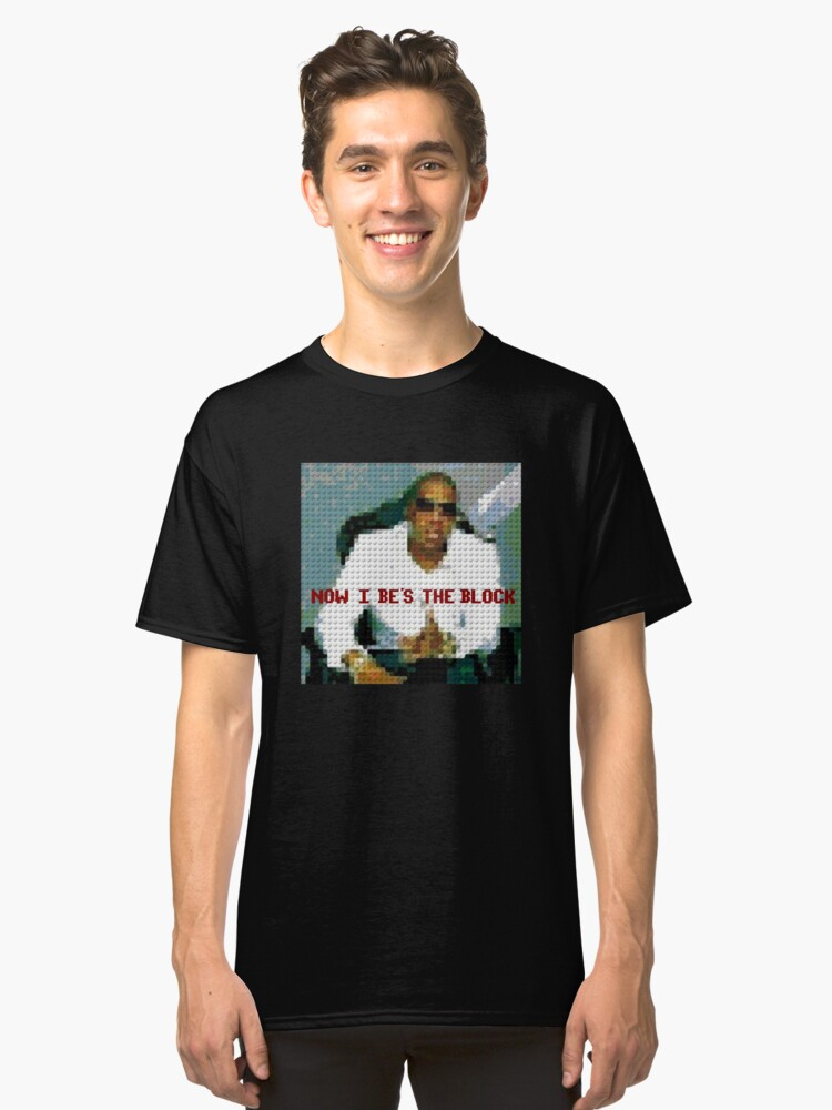Be's The Block Classic T-Shirt Front