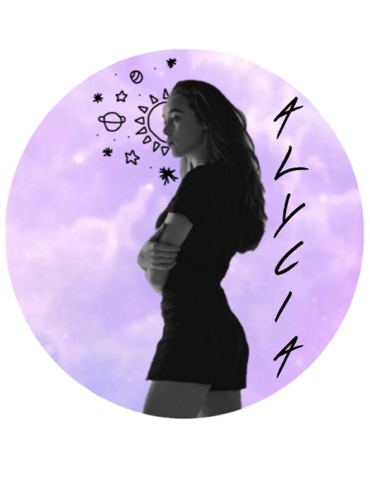 Alycia Debnam Carey Stars  by The  100