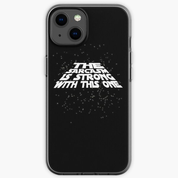 The sarcasm is strong with this one iPhone Soft Case