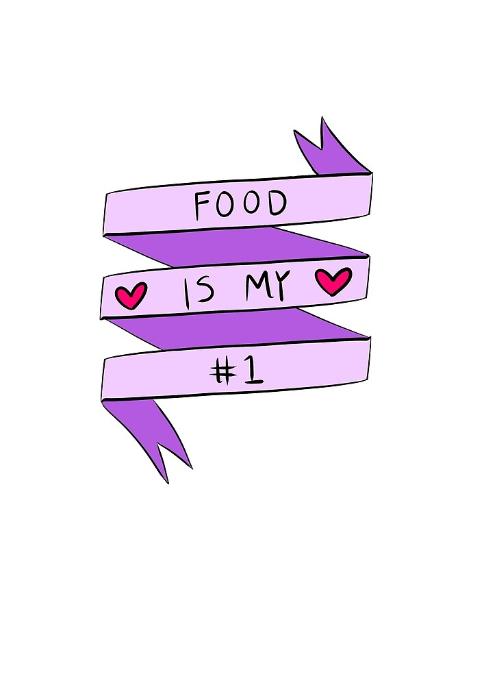 Food is my no.1 by ria-draws