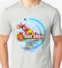 Raja Ampat Republic Of Indonesia Unisex T-Shirt
