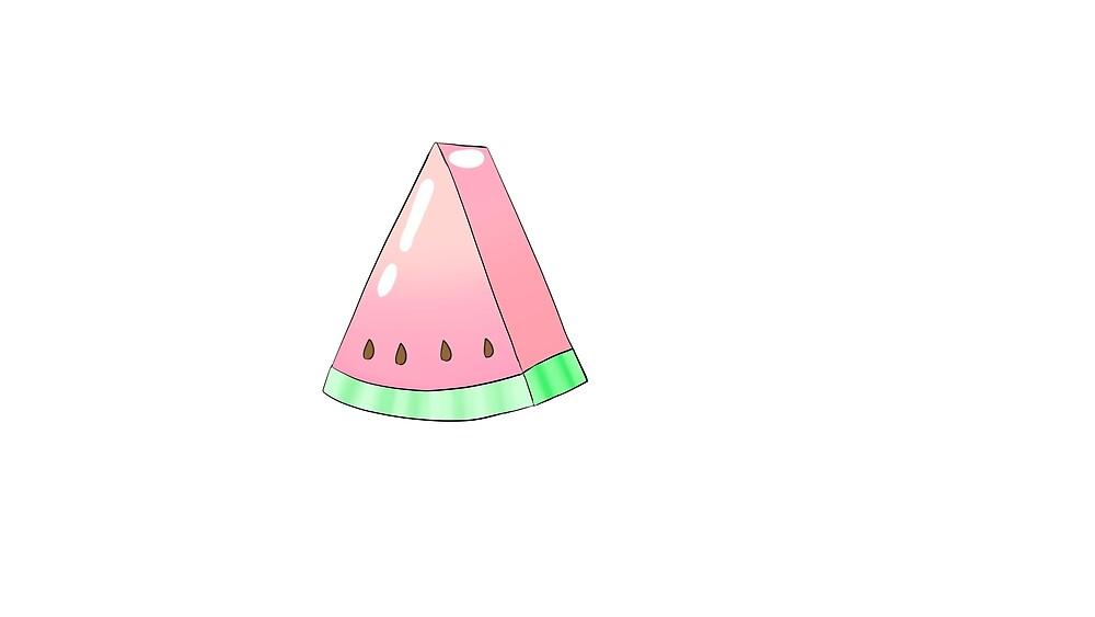 Watermelon by ria-draws