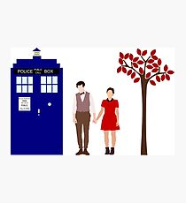 Clara and Eleven Photographic Print