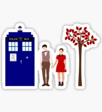Clara and Eleven Sticker